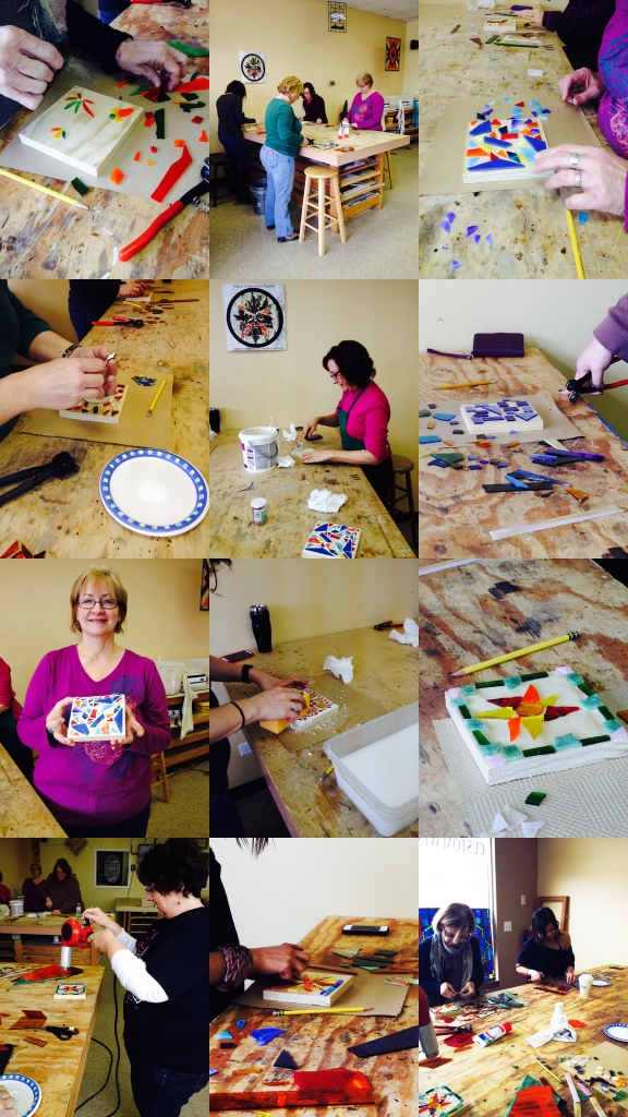 Saturday March 8, 2014 Intro To Mosaic Class