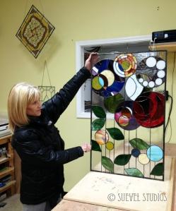 Copper Foil Panel Artist: Suzanne Comella Advanced Stained Glass